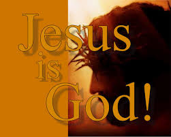 Image result for jesus is god pictures