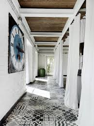 Black And White Patterned Floor Tiles Stunning Patterned Tiles Floors I Saw And Liked Decorator's Notebook Blog