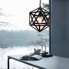 Jie Kerze Kronleuchter Moderne Einfache Geometrie Kreative