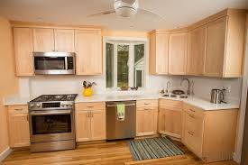 Natural Maple Is The Star Of This Milton Kitchen Natural Maple