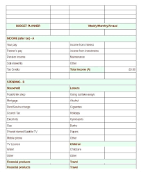 Excel Financial Planning Worksheet Family Financial Planning Worksheet Unique Design Simple Personal