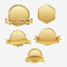 vintage gold frame label gold vector frame vector ribbon png and vector