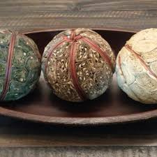 Decorative Bowl With Balls Find More Decorative Bowl With Balls For Sale At Up To 100% Off 37