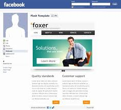 Facebook Business Page Template Luxury Fan Fbml Templates