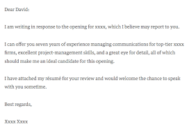 Referral Cover Letter Sample Essay Argues That Going On The Market Before You Are Done