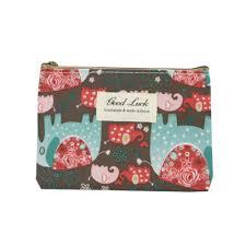 Aelicy <b>women's girls</b> cute cartoon striped plaid <b>purse leather</b> mini ...