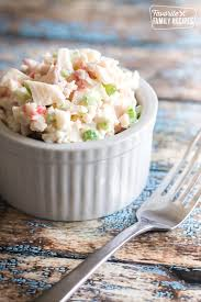easiest crab salad with 3 ways to