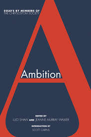 ambition image journal print