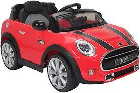 Outdoortoys Licensed <b>Mini</b> Cooper S 12v <b>child's</b> Ride on <b>Car</b> - Red ...