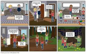 Short Notice Babysitter Babysitter Mischief Storyboard By Dakotaotto