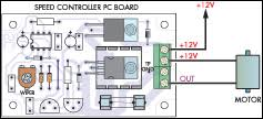 12v speed controller dimmer circuit diagram layout while connecting motor to the circuit