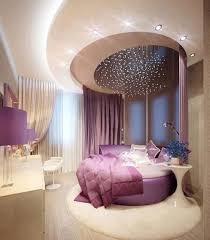 glamorous futuristic bedroom