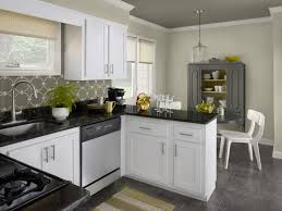 Modern White Tren Kitchen Cabinet Painting Color Ideas