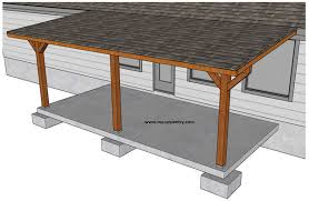 patio cover plans build your patio
