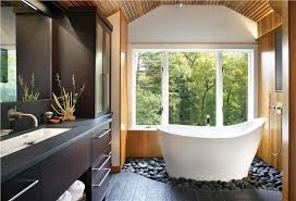 Relaxing Contemporary Bathroom by Holly Rickert