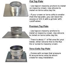 chimney liner kits stainless steel flue liner diy rockford chimney supply