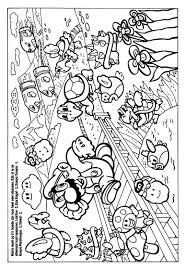 Super Mario Bros Kleurplaten Leuk Voor Kids Beste Kleurplaat Super