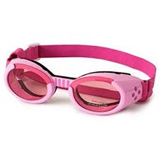 Doggles Dgil02 Ils Lense Dog Goggles In Pink Size See Chart Below Extra Small