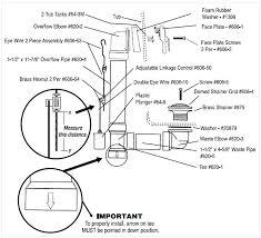 tub drain parts bathtub drain and plumbing diagram fix kohler tub drain assembly