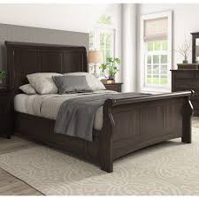 Ediline-Queen-Size-Wood-Sleigh-Platform-Bed-by-
