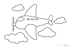 airplane coloring book airplane coloring book for kids pages in the sky free p airplane coloring