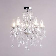 mini glass chandelier