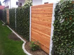 Holz Sichtschutz Garten Inspirierend Baustelle Von Garten Bronder