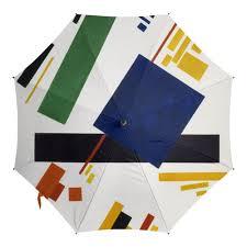<b>Зонт</b>-<b>трость с деревянной</b> ручкой Супрематическая композиция ...