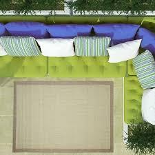 green geometric border flatweave area rugs durable easy clean indoor outdoor rug
