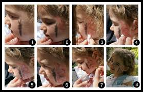 how to erfly face painting collage stylishspoon com
