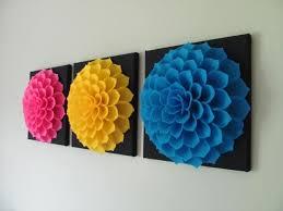 wall art designs fabric wall art felt flower wall art pattern within diy fabric flower on felt flower wall art diy with wall art ideas diy fabric flower wall art explore 5 of 15 photos