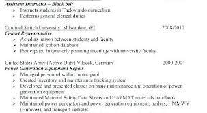 Veteran Resume Examples Resume Templates Veterans Resume Templates