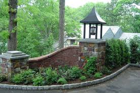 Brick Entrance Designs Driveway Custom Landscaping Landscaping Bricks Stones Driveway