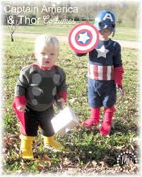 diy captain america thor costumes