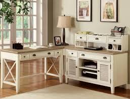 vintage home office desk. Apartments Lovely Home Office Design Ideas With White Vintage Intended For Stylish Desk G