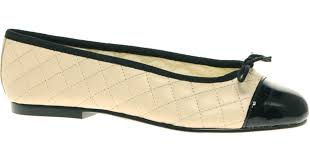 French sole Simple Classic Quilted Ballet Flat in Black | Lyst &  Adamdwight.com