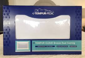 tempurpedic pillow cloud breeze dual cooling. Simple Breeze Dual Cooling Pillow Tempurpedic Cloud Breeze On Tempurpedic Pillow Cloud Breeze P