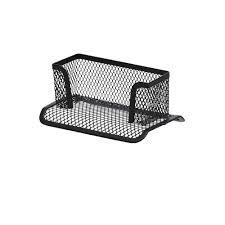 j burrows metal mesh desk accessory set 5 piece black