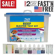 Master Test Kit Chart Api Reef Master Test Kit Reef Aquarium Water Test Kit 1 Count Fast Shipping