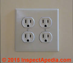 duplex electrical receptacle wire connections wiring details 4 Plex Outlet Wiring Diagram duplex electrical receptacle wire connections how to wire up an duplex or multiple or gang of wall receptacles in one electrical box or one location Double Outlet Wiring Diagram