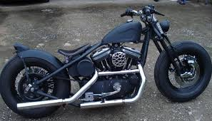 fat tire sportster bobber malibu motorcycle works