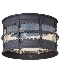Minka Lavery  Mallorca  Inch Wide  Light Outdoor Flush - Flush mount exterior light fixtures