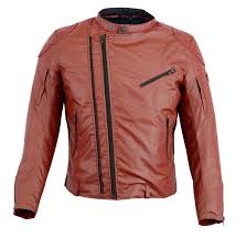 men s red summer motorcycle motorbike wax cotton armour ce racing jacket