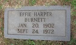 Effie Margaret Harper Burnett (1902-1972) - Find A Grave Memorial
