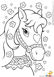 Horse Coloring Pictures To Print For Free L L L L