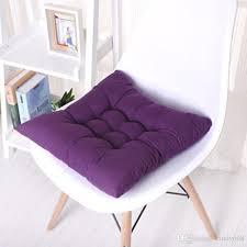 fashion square plaid chair cushion mat