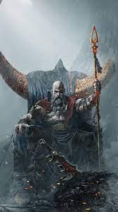 Kratos God of War Ragnarok 4K Phone ...