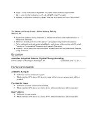 Pta Resume Examples – Hflser