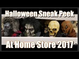 halloween sneak peek at home store 2017 youtube