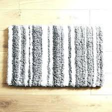 amazing striped bath rug or gorgeous bath rug striped bathroom cloud step charcoal navy blue x
